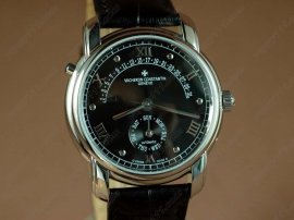 ヴァシュロンコンスタンタン Vacheron Constantin Watches SS Case Black Dial Automatic