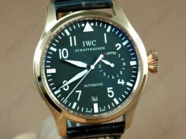 IWC Watches Big Pilot 2nd Edition RG Black 2自動巻き