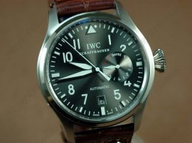 IWC Watches Big Pilot 2nd Edition Gray SS自動巻き