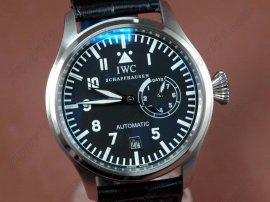 IWC Watches Big Pilot SS/LE Black Black Asia Auto 25J自動巻き