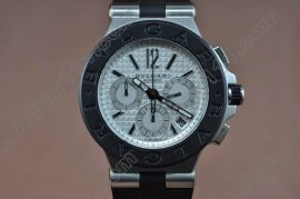 ブルガリBvlgari Diagono Aluminium Chrono SS RU Asian 7750自動巻き