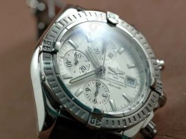 ブライトリングBreitling Chronomat Evolution LE White Asia 7750自動巻き
