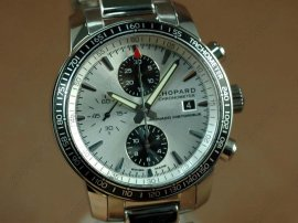 ショパール Chopard watches Mile Miglia Chrono Grand Prix Ed SS/SS Wht A-7750腕時計