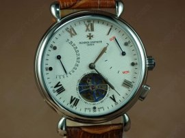 ヴァシュロンコンスタンタン Vacheron Constantin Watches SS Case White Dial Blue Seconds Automatic