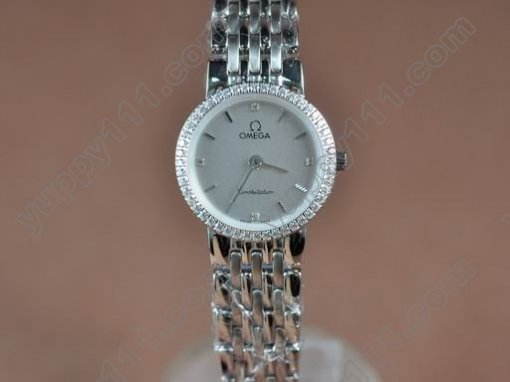 オメガOmega Lady Diamond Swissクオーツ